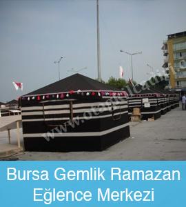 Bursa-gemlik-ramazan-eglence-merkezi yörük çadırı