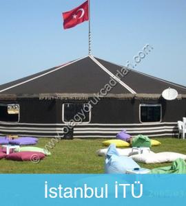 istanbul-itu yörük çadırı
